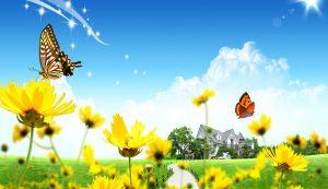 موضوع تعبير عن الربيع بالعناصر كاملة